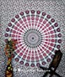 Indian floral tapisserie Pyshedlic mural, Mural, tapisseries, nappes de Tapisserie Motif Hippie Boh�me D�coration murale Indian Couvre-lit en coton Motif floral boh�mien, dortoirs D�coration murale Motif Hippie Boho tapisseries, pique-nique, d�coration murale, reine Par Bhagyoday 86 x 94