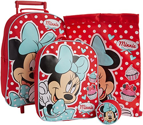 Disney Minnie Mouse Set di valigie, motivo Dotty Day Out