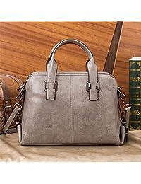 Preisvergleich für Leder Einzel Schultertasche Tasche Obliquer Querschnitt Paket Business Paket Professional Lady Paket big bag,...