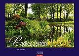 Paradiesgärten - Kalender 2018 - Weingarten-Verlag - Wandkalender 68 cm x 49 cm