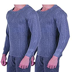Zimfit Mens Winter Wear Full Sleeves Ultra Thermal (Upper) (80) 2PC