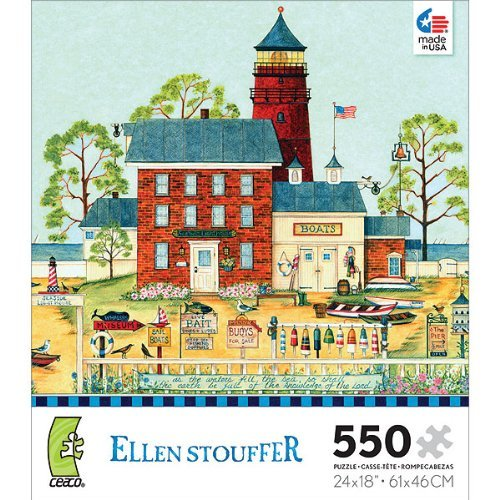 ellen-stouffer-the-lighthouse-550-piece-jigsaw-puzzle-by-ceaco-by-ceaco
