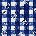 beo Bank MFZ13 FZ 100/2 LU Festzeltauflagen Set für 70 cm, Tische, 2 Bankauflagen 220 x 25 cm mit 1 Tischdecke 240 x 100 cm, blau / weiβ von HVI bei Gartenmöbel von Du und Dein Garten
