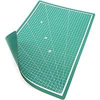 PRETEX Schneidematte (A3) aus PVC in mit selbstschließender, selbstheilender Oberfläche, 45 x 30 cm, grün