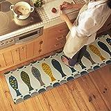 Haosen 50*80cm Pictographic Fisch muster Küche Bad WC rutschfeste Matten Teppich Türmatten