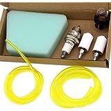SWNKDG Kit universal de filtro de gasolina Cartucho del filtro de aire Manguera de combustible (2.5 x 5 mm 2 x 3.5 mm) para C