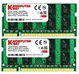 Komputerbay 8GB (2 x 4GB) PC2-6400 DDR2 800MHz SODIMM Dual Channel Laptop-Speicher-Kit