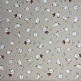 Hühner Baumwolle Rich Leinen Look Stoff für Vorhänge