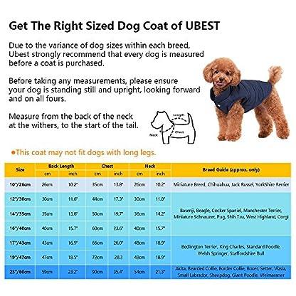 ubest Dog Cosy Fleece Jacket Winter Lined Coat Brown Large 2