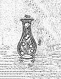 CWJ Blumentopf Halter-Europäischen Stil Eisen Boden Typ Kreative Doppelschicht Innen und Außen Balkon Dekorative Regal Pflanzen Platzsparend,1
