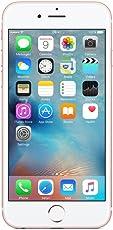 "Apple iPhone 6s, 4,7"" Display, SIM-Free, 128 GB, 2015, Roségold (Zertifiziert und Generalüberholt)"