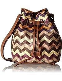 GERRY WEBER Sunrise Matchsack - Bolso de asas de Material Sintético para mujer Morado Violett (purple 350) 21x14x26 cm (B x H x T)