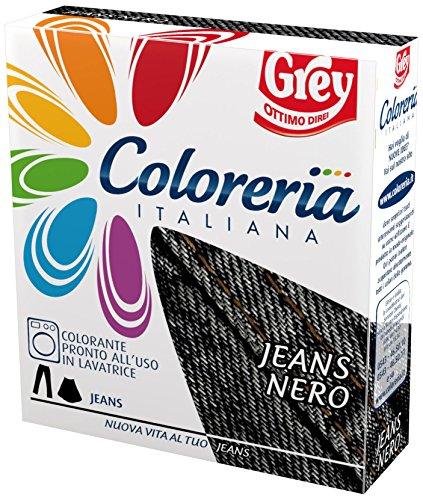 Coloreria italiana jeans nero gr.175 - [confezione da 8]