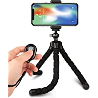 Rhodesy octopus mobile phone tripod with bluetooth remote control tripod for camera and ...