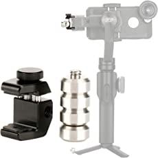 Ulanzi PT-4 Removable Gimbal Counterweight for Balancing Moment Anamorphic Lens, 60g Counter Weight for zhiyun Smooth 4/DJI Osmo Mobile 2/Hohem Steadycam Pro/Feiyu Smartphone Gimbal