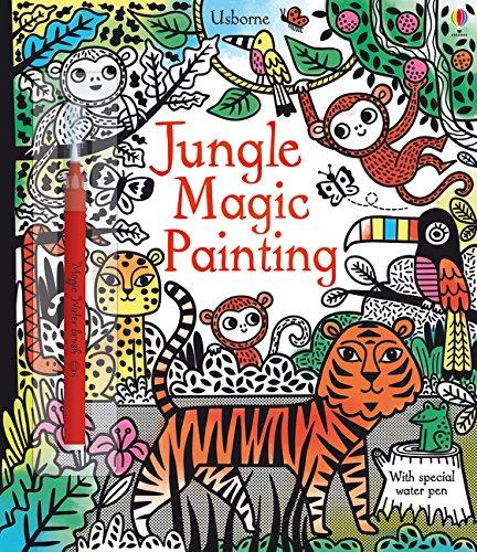 Magic Painting: Jungle (Book Painting Magic)