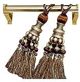1 Paar Eleganter gardinenaufhänger/gardinenclips/vorhanghaken, NO.1(80cm)
