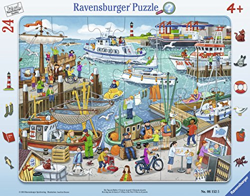 Ravensburger-Puzzle-06152-Ein-Tag-Am-Hafen