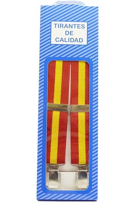 Tirantes Caballero Bandera ESPAÑA ALBERO ELÁSTICOS: Amazon.es: Ropa y accesorios
