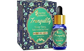 Oriental Botanics Tranquility Aroma Therapy Diffuser Oil (Ylang Ylang, Rosewood & Rose) - 15ml
