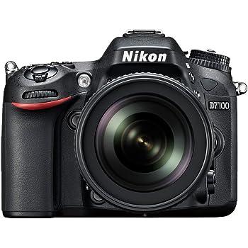 Nikon D7100 Fotocamera Digitale Reflex 24.1 Megapixel, Display 3.2 Pollici, con Obiettivo VR AF-S DX 18-105 mm 1:3.5-5.6G ED [Versione EU]