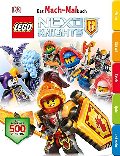 Das Mach-Malbuch LEGO NEXO KNIGHTS