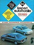 REVUE TECHNIQUE L'EXPERT AUTOMOBILE N° 279 FORD SCORPIO MOTEUR ESSENCE 1.8 / 2.0 / MOTEUR DIESEL 2.5 D ET 2.5 TURBO DIESEL