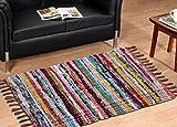 #8: Decorly Homes Multi Floor Mat Chindi Rugs(50*80 cms)