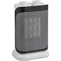 VonHaus Oscillating Ceramic Fan Heater 1500W – PTC Heat Technology with 2 Heat Settings, Temperature Adjustment & Overheat Protection