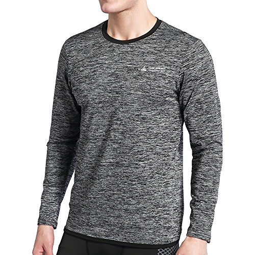 AMZSPORT GEAAMZSPORT GEAR is made with ergonomic seams and stretch fabric that hugs the body for a natural feel and snug comfort. Men's Long Sleeve T-Shirt for all-day comfort and lasting wear. PRODUCT ADAVANTAGEErgonomic seams and Next-to-skin witho...