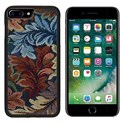 MSD Premium Apple iPhone 7 Plus Aluminum Backplate Bumper Snap Case iPhone7 Plus IMAGE ID: 7480131 White seamless floral valentine pattern with hearts and butterflies