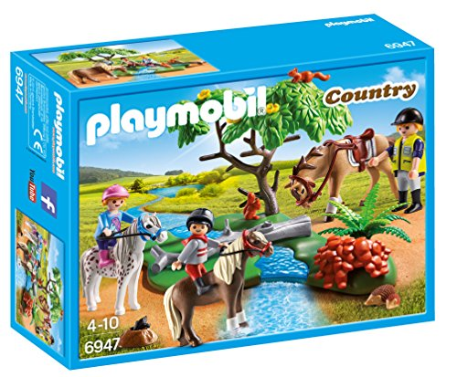 Playmobil 6947 - Gita con i Pony, Multicolore
