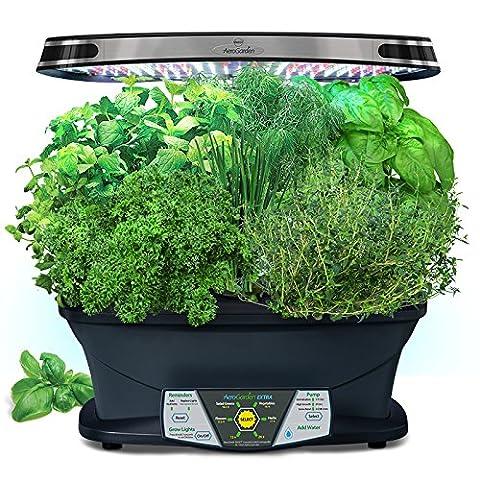 AeroGarden Extra (LED) avec Gourmet Herbe de Pod kit