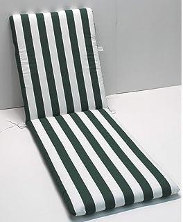 luckystoreme Cuscino per Panca da Esterno 100 x 50 cm Gaeden per Panca da Giardino o Dondolo