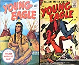 Young Eagle. Issues 4 and 5. Greatest Indian Warrior and Valliant Indian Sleuth. Golden Age Digital Comics Wild West Western. (English Edition)