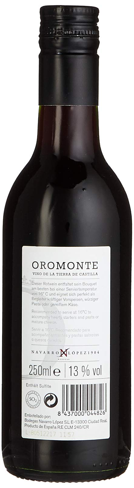 Navarro-Lopez-Oromonte-Tempranillo-VdT-de-Castilla-trocken-025-L-3er-Pack-3-x-250-ml