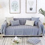000e3247874 Lovehouse Algodón Lino Funda para sofá,Enrejado simple Cubre sofá 1-pieza '  todo