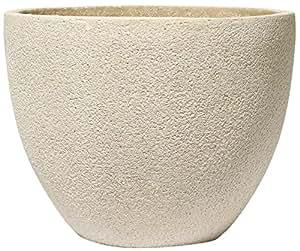 ArtLine Stone Pflanzgefäß Brisbane, creme, 30 cm
