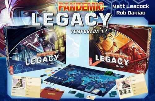 Z Man Games ZMG71171ES, Pandemic legacy, versión española, 1a temporada