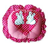 Littly Round Cotton Pillow With Frill fo...