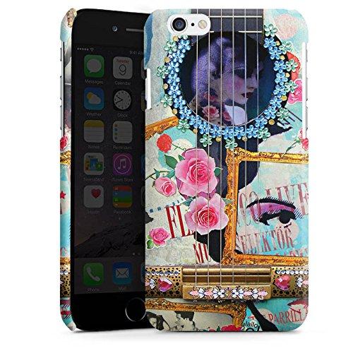 Apple iPhone 4 Housse Étui Silicone Coque Protection Guitare Art Flamenco Cas Premium brillant