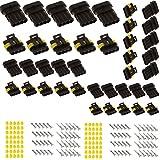 20 set Superseal 4 polig Stecker Steckverbinder Capalta Blume 1.5mm Steckverbindung Wasserdicht für Auto KFZ Boot