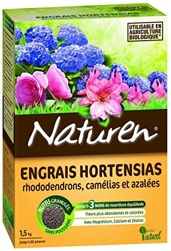 Naturen 8389 Engrais Hortensias 1,5 kg
