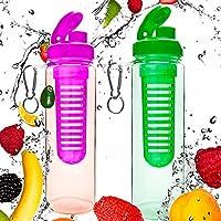2 da Borraccia da 700ml »FruitInfusior« per bevande a base