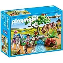 Playmobil Granja de Ponis - Paseo de Ponis en el Campo (6947)