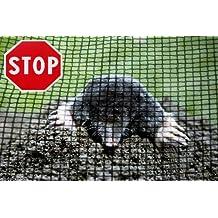 300m² Maulwurfnetz Rollrasen - Rasen - Maulwurfschutz Maulwurfsperre inkl. 100 Bodenanker