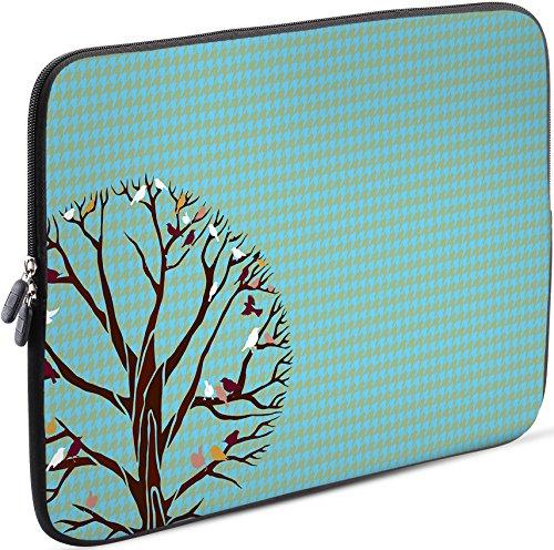 Sidorenko Tablet PC Tasche für 10-10.1 Zoll   Universal Tablet Schutzhülle   Hülle Sleeve Case Etui aus Neopren, Blau
