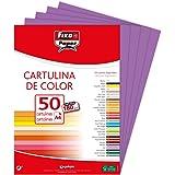 Fixo 11110367Pack de 50Feuilles de papier cartonné A4, couleur violette