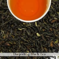 Darjeeling Tea 100gm(3.52oz) | Second Flush Loose Leaf Black Tea, for Breakfast, Afternooon Tea, as Sweetened Milk Tea | Darjeeling Tea Boutique