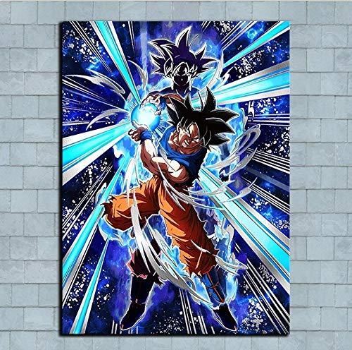 Geiqianjiumai Hauptdekoration Anime Charakter Bild wandaufkleber Kunst ölgemälde rahmenlose malerei 30x40 cm